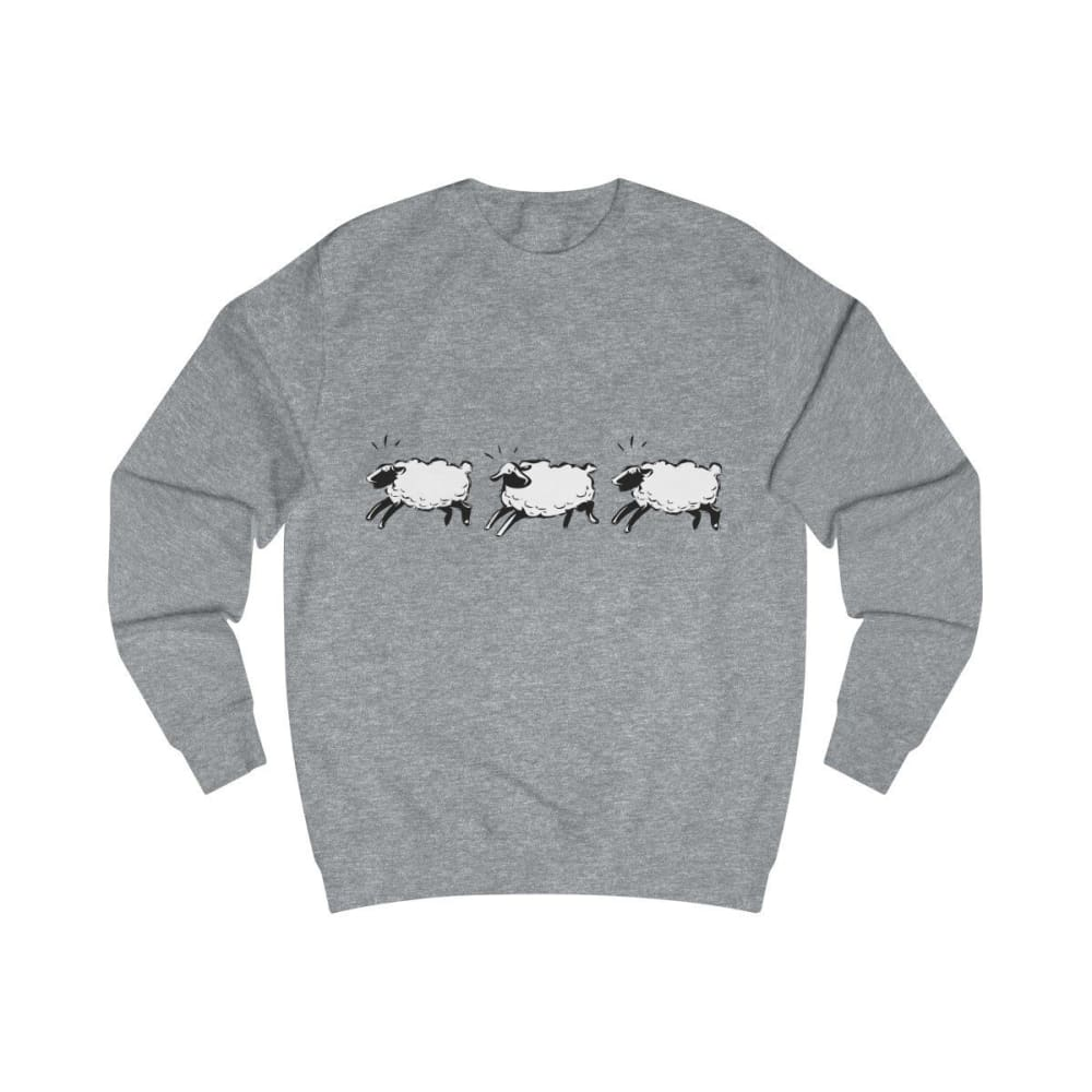 Pull moutons - Heather Grey / S - DTG - Men's Clothing -