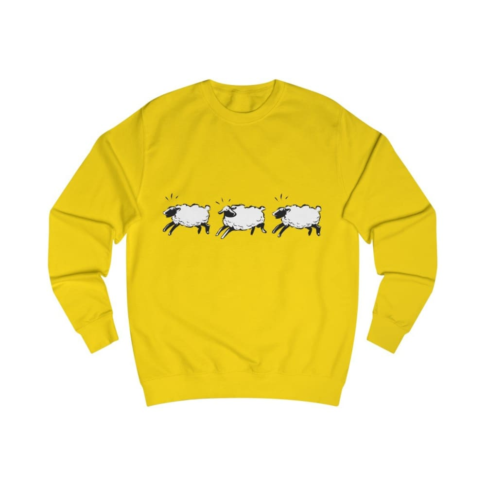 Pull moutons - Sun Yellow / L - DTG - Men's Clothing - Slim