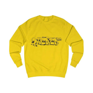 Pull moutons - Sun Yellow / S - DTG - Men's Clothing - Slim
