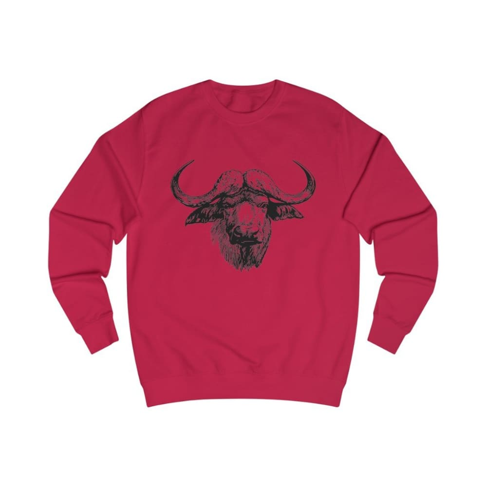Pull vache africaine - Fire Red / S - DTG - Men's Clothing -