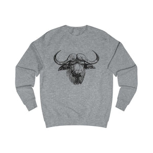 Pull vache africaine - Heather Grey / L - DTG - Men's