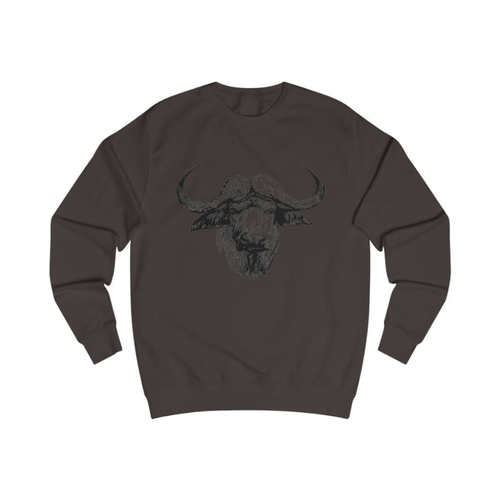 Pull vache africaine - Hot Chocolate / S - DTG - Men's
