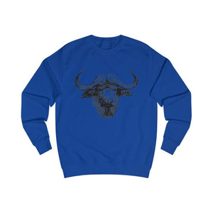 Pull vache africaine - Royal Blue / S - DTG - Men's Clothing