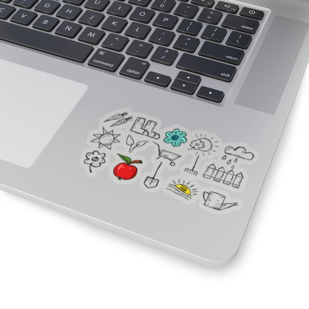 Stickers outils de jardin - Home & Living