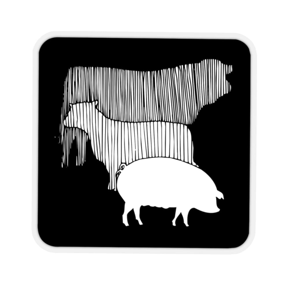 Stickers vache mouton cochon - Home & Living
