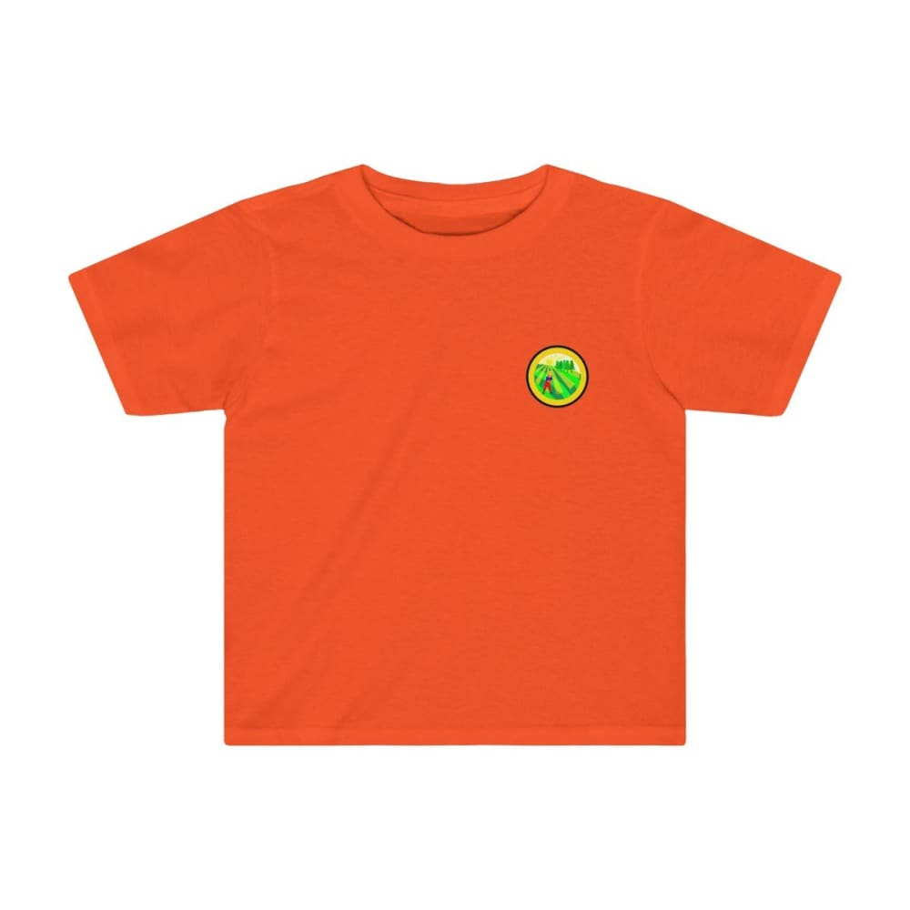 T-shirt agriculture enfant - Orange / 2T - Crew neck - DTG -