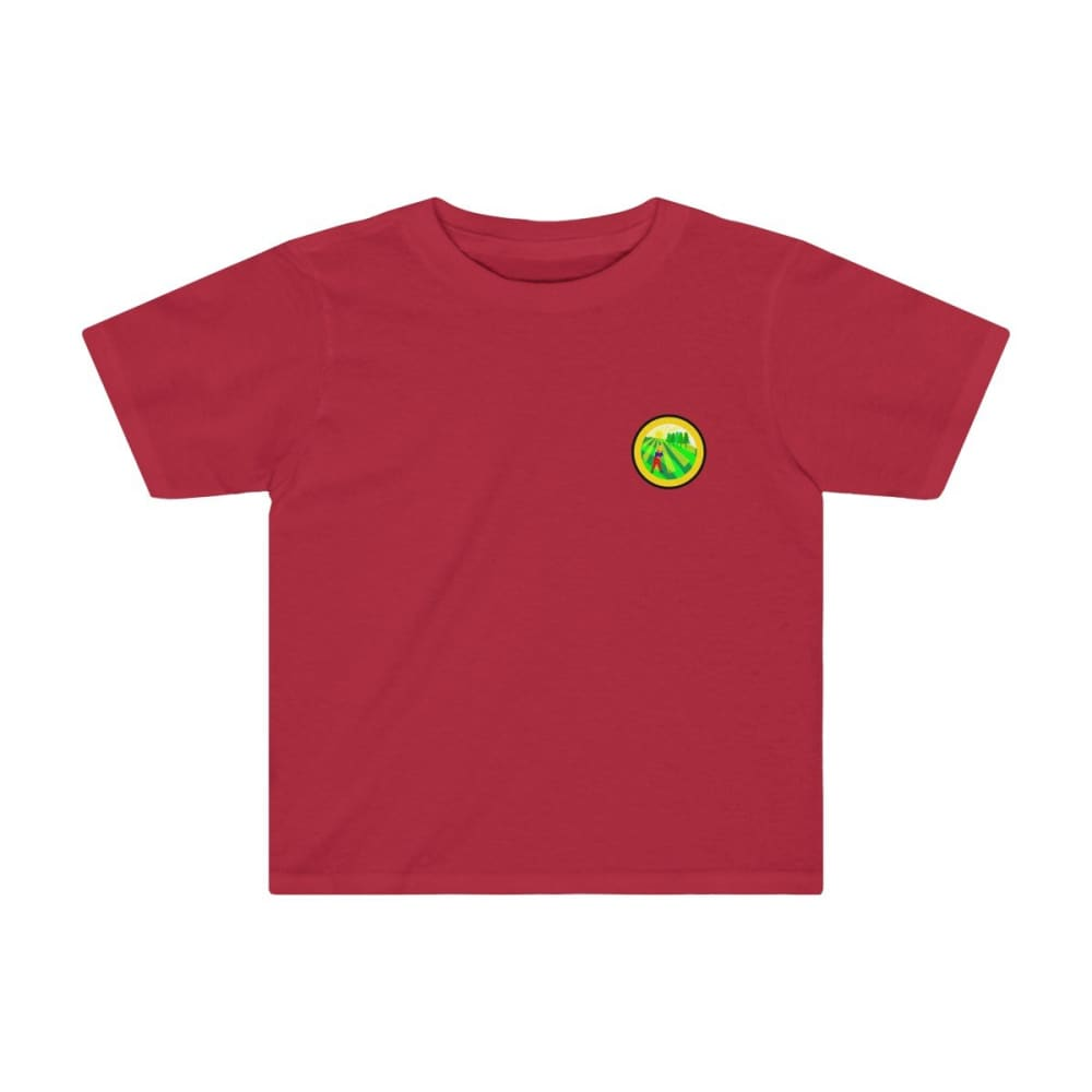 T-shirt agriculture enfant - Red / 2T - Crew neck - DTG -