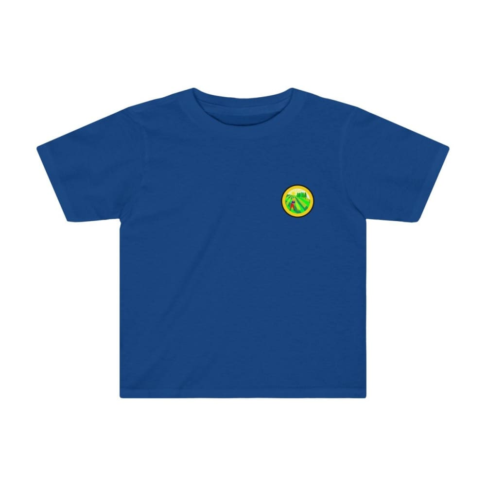 T-shirt agriculture enfant - Royal / 2T - Crew neck - DTG -