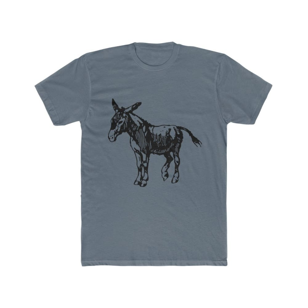 T-shirt âne homme - Solid Indigo / XS - DTG - Men's Clothing