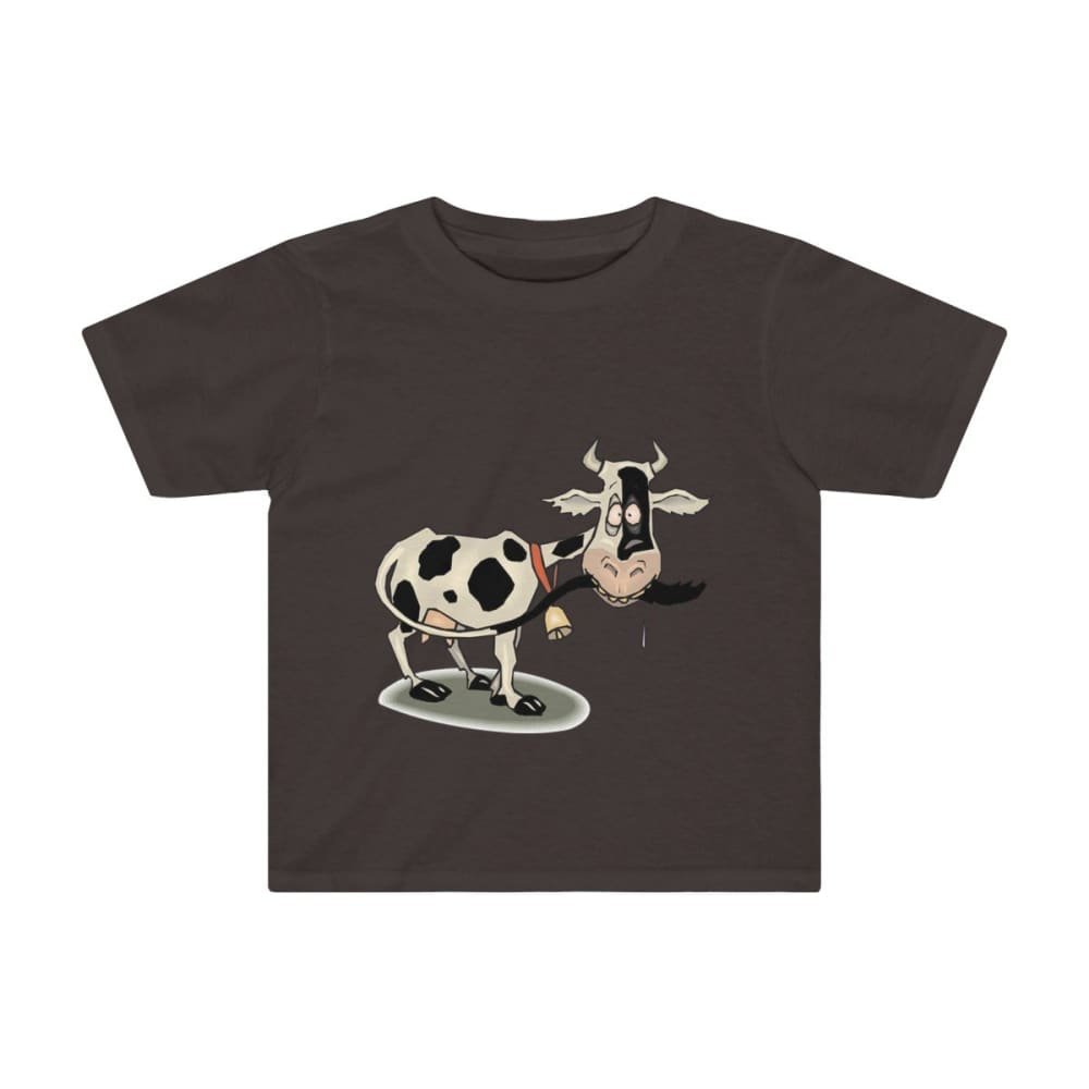 T-shirt enfant vache folle - Dark Chocoloate / 2T - Crew