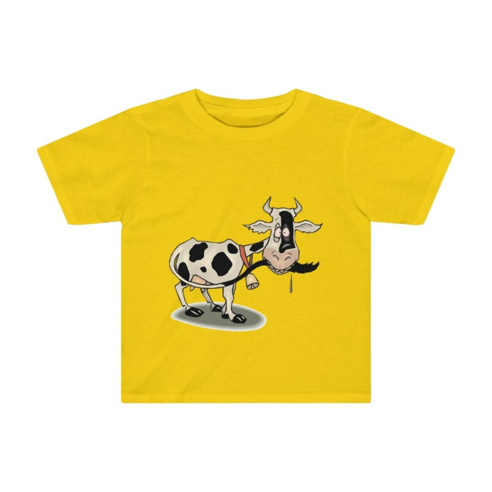 T-shirt enfant vache folle - Sunflower / 2T - Crew neck -