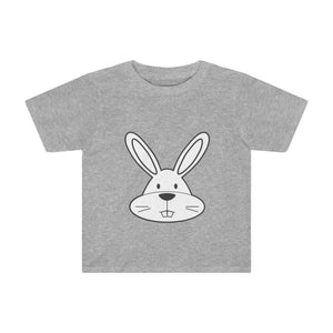 T-shirt lapin enfant - Athletic Heather / 2T - Crew neck -