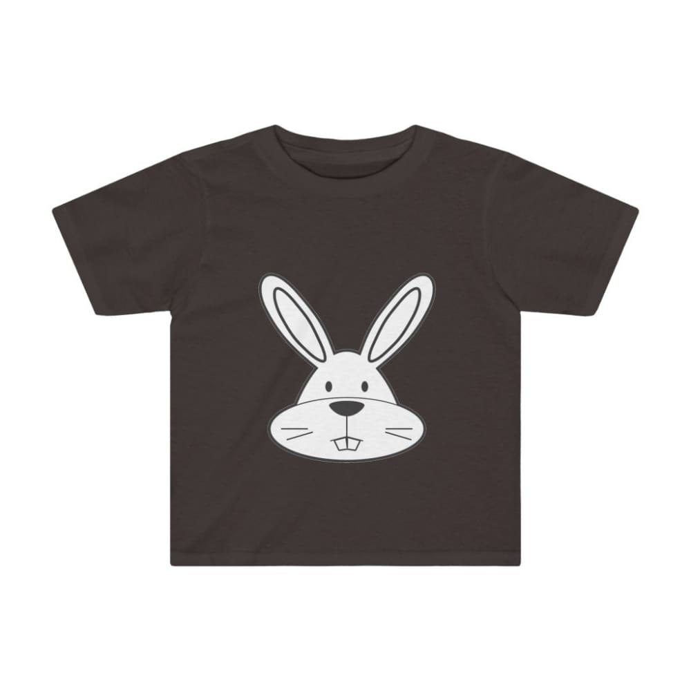 T-shirt lapin enfant - Dark Chocoloate / 2T - Crew neck -