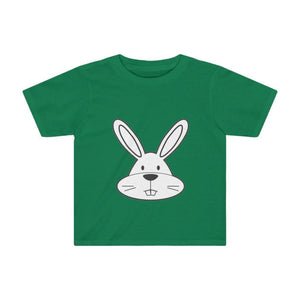 T-shirt lapin enfant - Kelly / 2T - Crew neck - DTG - Kid's