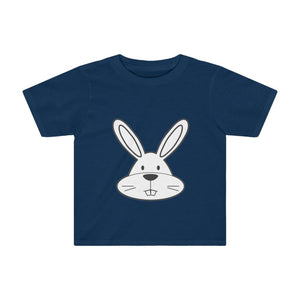 T-shirt lapin enfant - Navy / 2T - Crew neck - DTG - Kid's