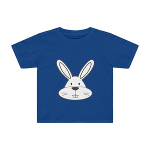 T-shirt lapin enfant - Royal / 2T - Crew neck - DTG - Kid's