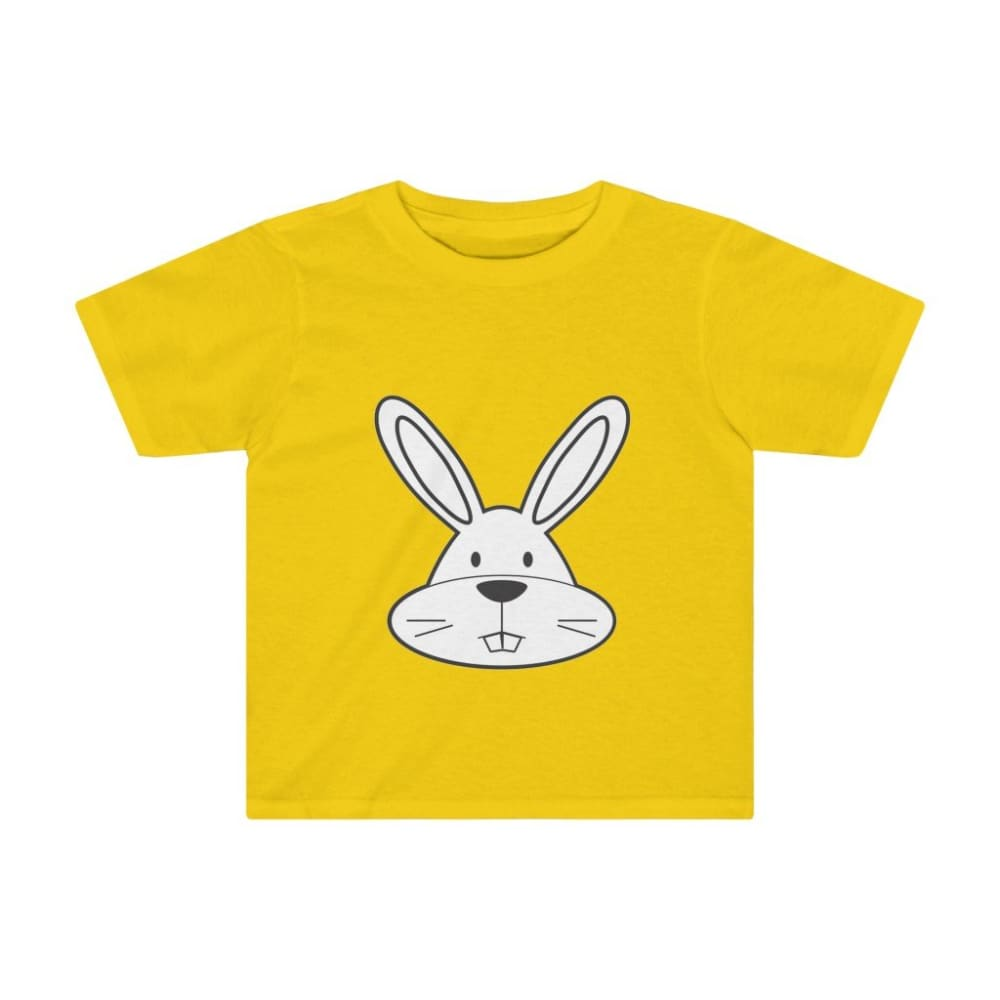 T-shirt lapin enfant - Sunflower / 2T - Crew neck - DTG -