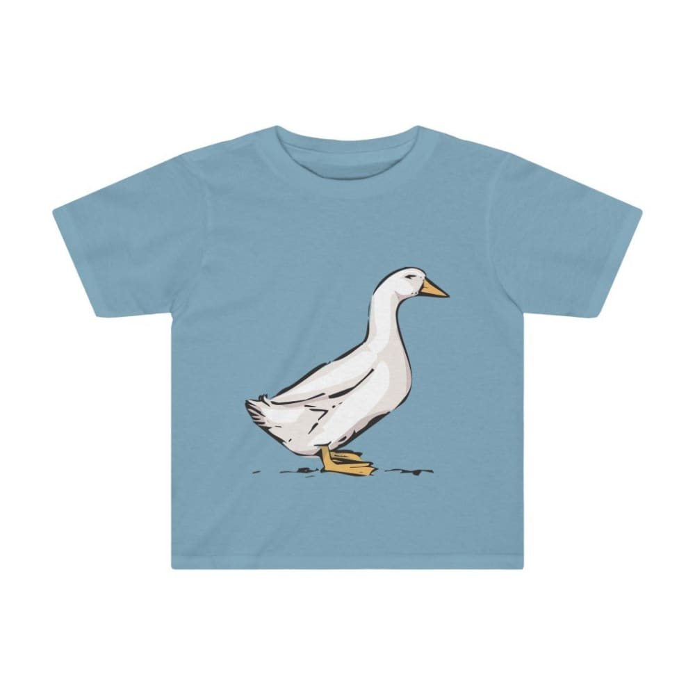 T-shirt oie enfant - Sky Blue / 2T - Crew neck - DTG - Kid's