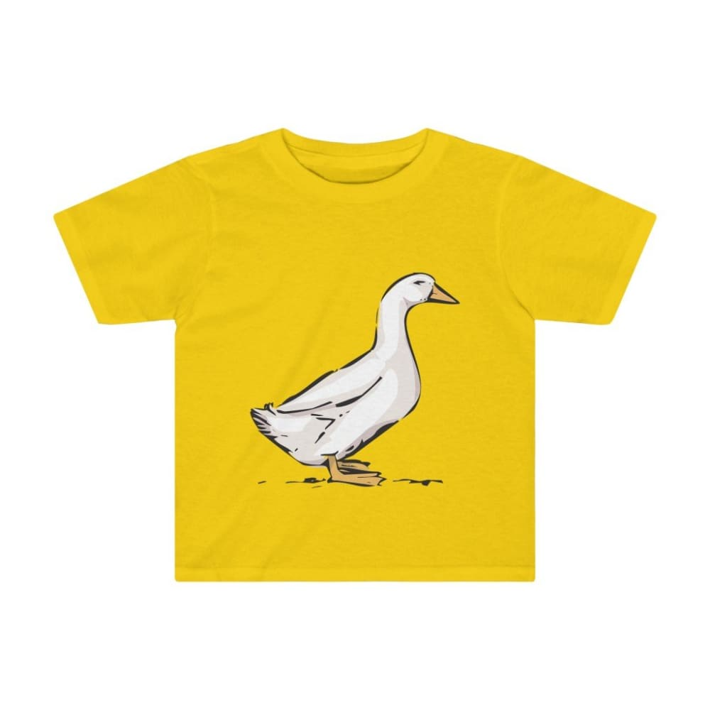 T-shirt oie enfant - Sunflower / 2T - Crew neck - DTG -