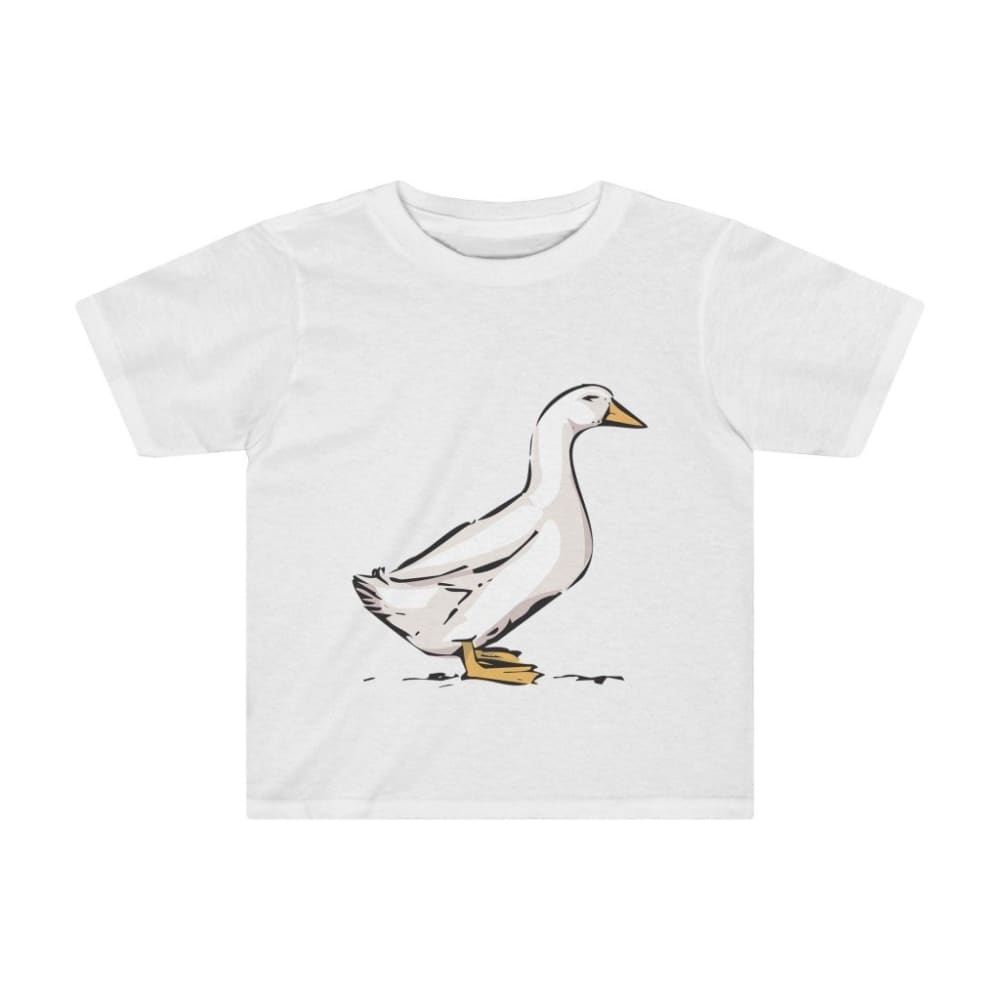 T-shirt oie enfant - White / 2T - Crew neck - DTG - Kid's