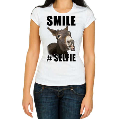 T-shirt sourire d'âne - We / XXS