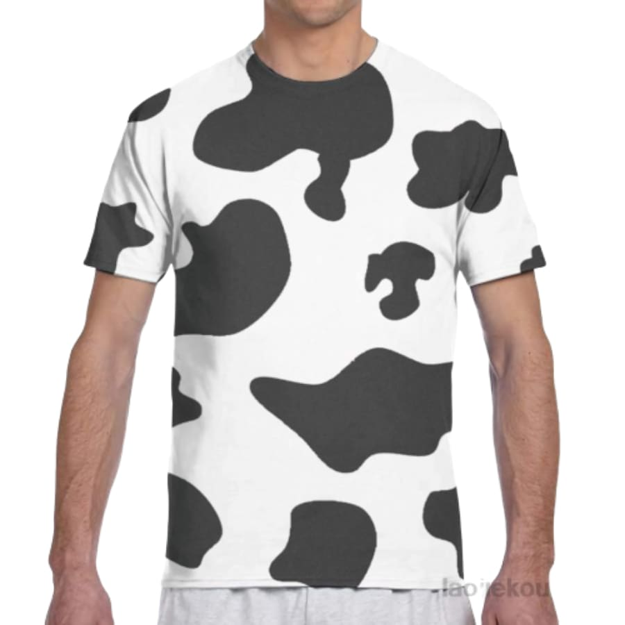 T-shirt tâches de vache - Men / XS
