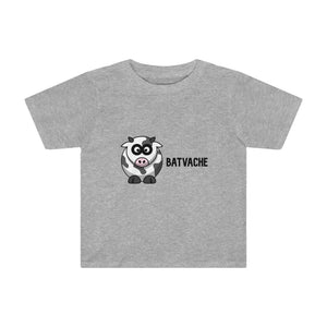 T-shirt unisexe batvache - Athletic Heather / 2T - Crew neck