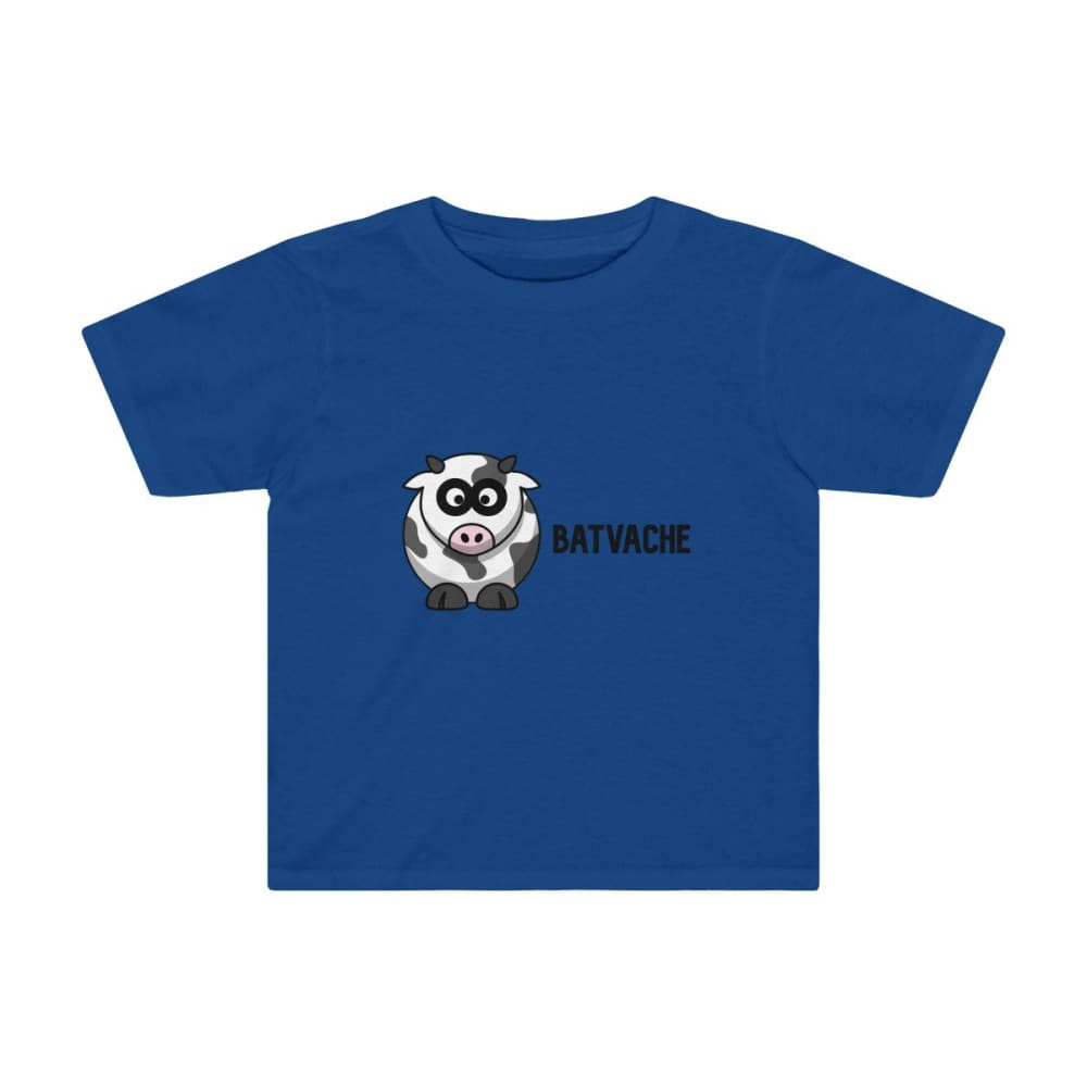 T-shirt unisexe batvache - Royal / 2T - Crew neck - DTG -