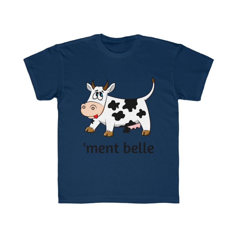 T-shirt vachement belle enfant - Navy / XS - DTG - Kid's