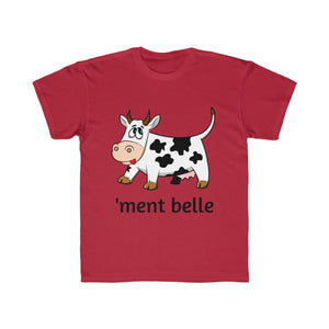 T-shirt vachement belle enfant - Red / XS - DTG - Kid's