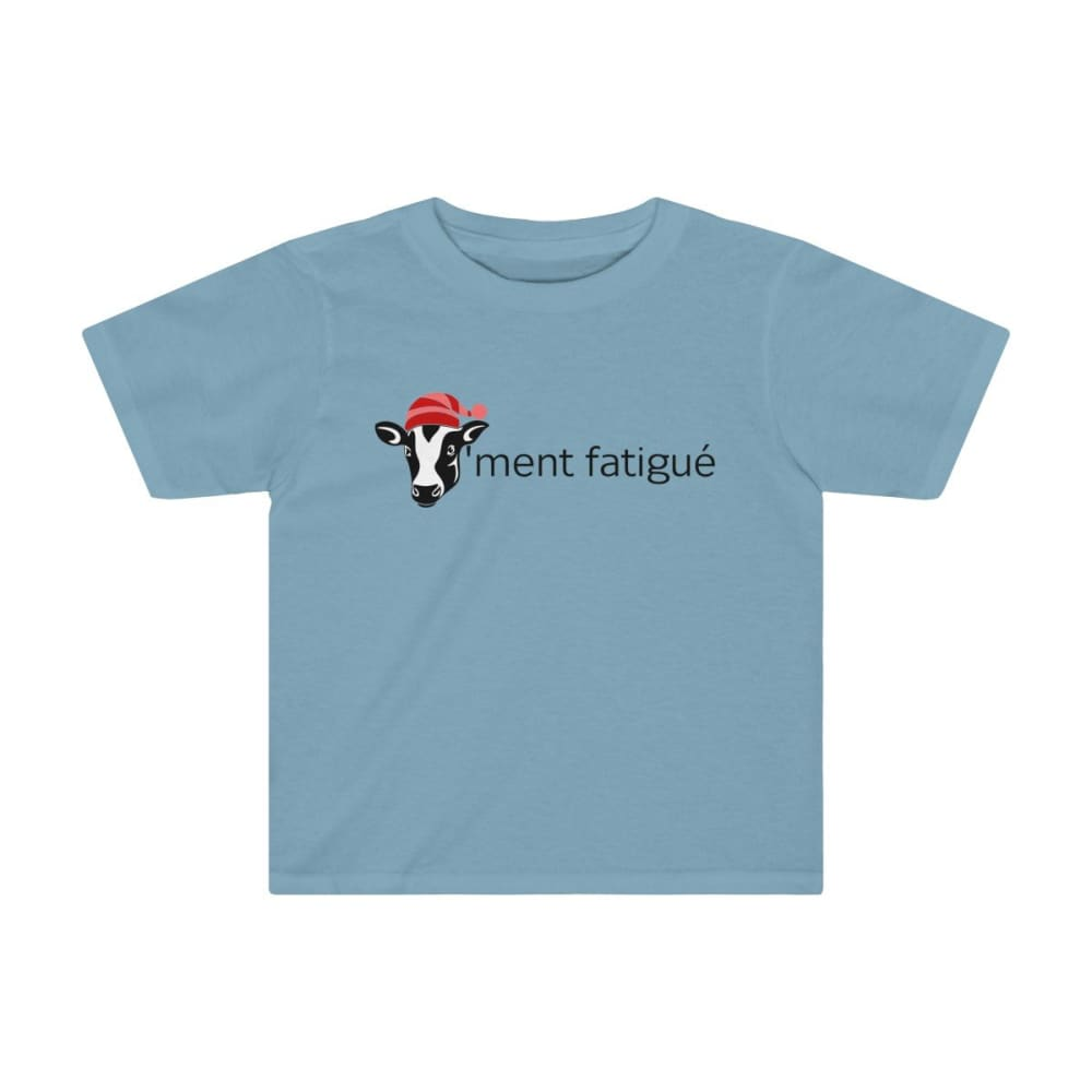 T-shirt vachement fatigué enfant - Sky Blue / 2T - Crew neck