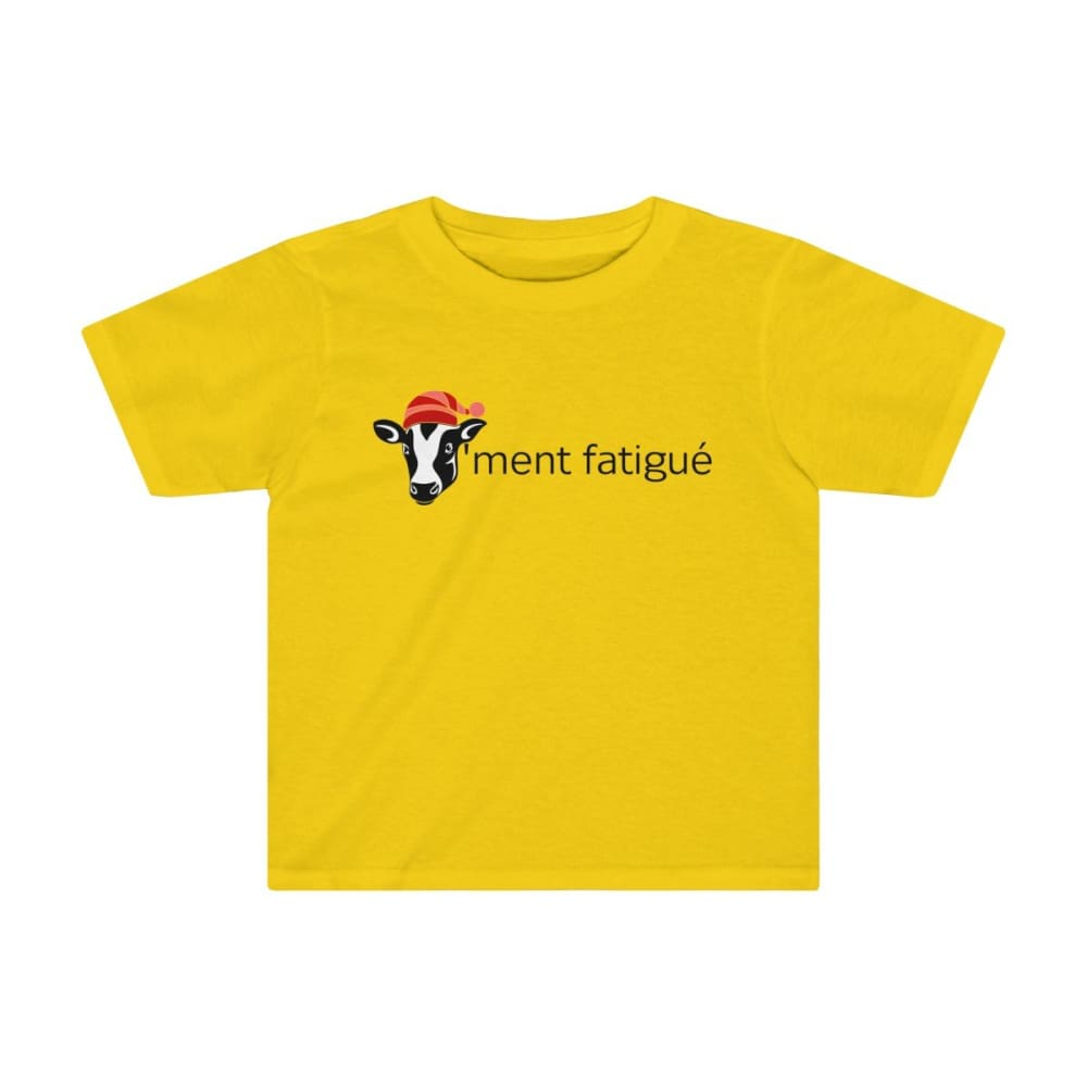 T-shirt vachement fatigué enfant - Sunflower / 2T - Crew