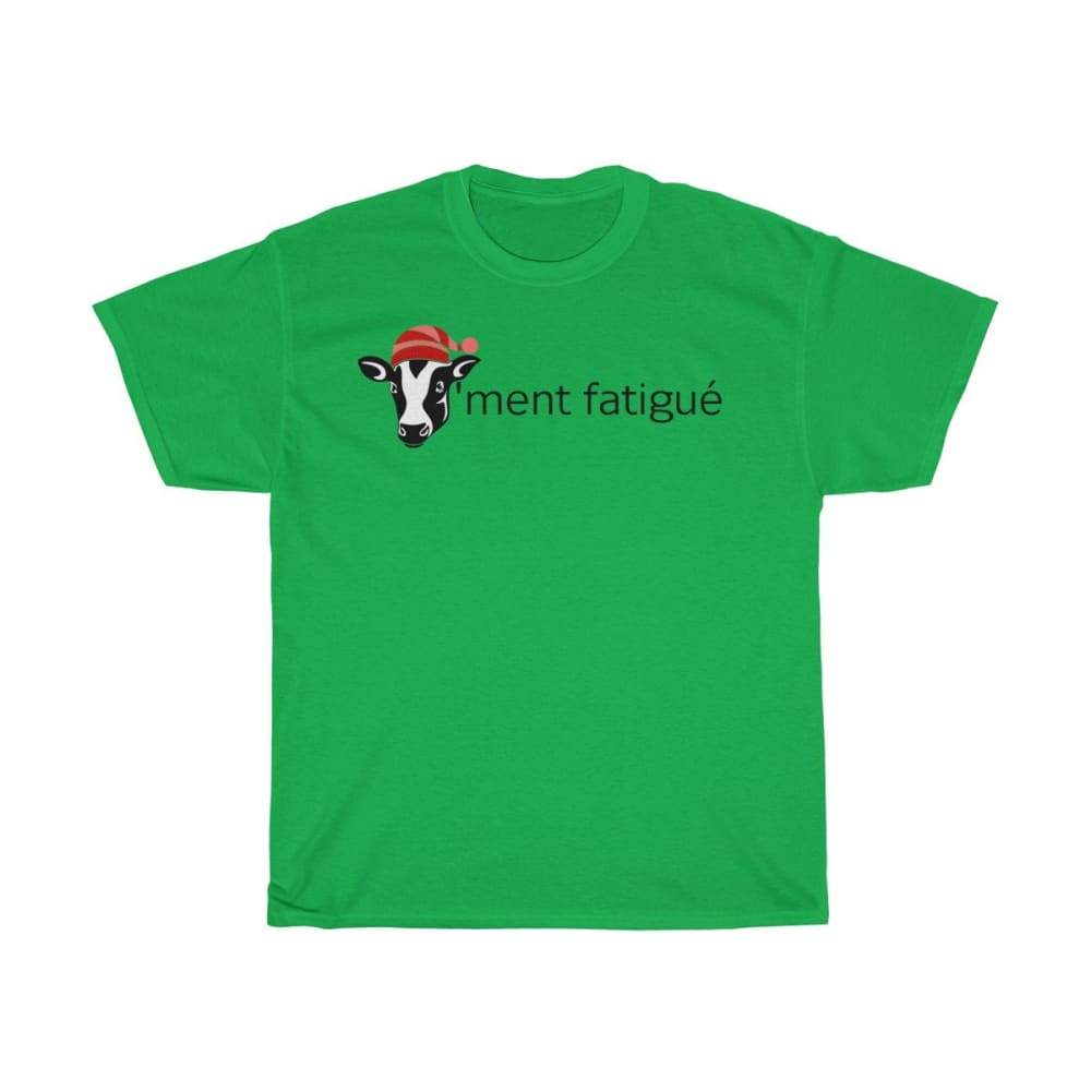 T-shirt vachement fatigué - Irish Green / S - Crew neck -