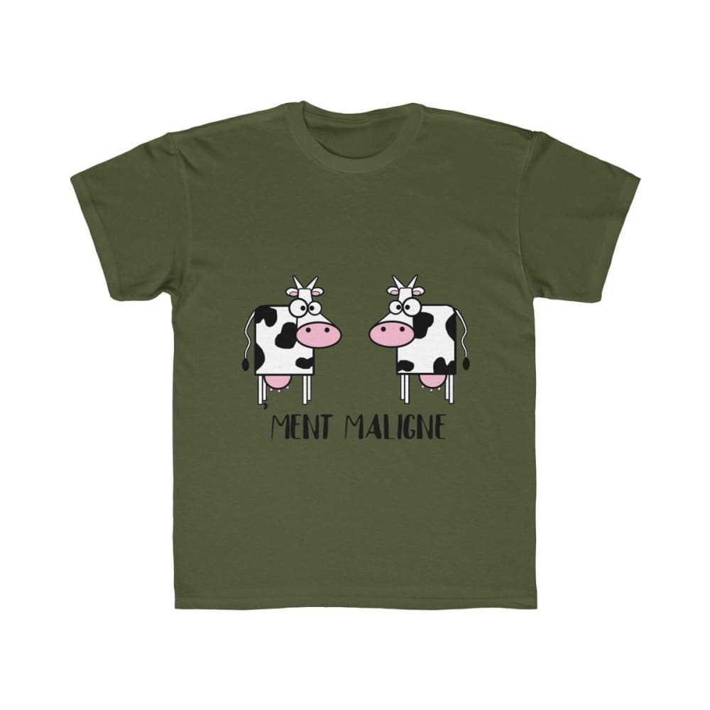 T-shirt vachement maligne - Moss / S - DTG - Kid's Clothing