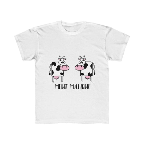 T-shirt vachement maligne - White / L - DTG - Kid's Clothing