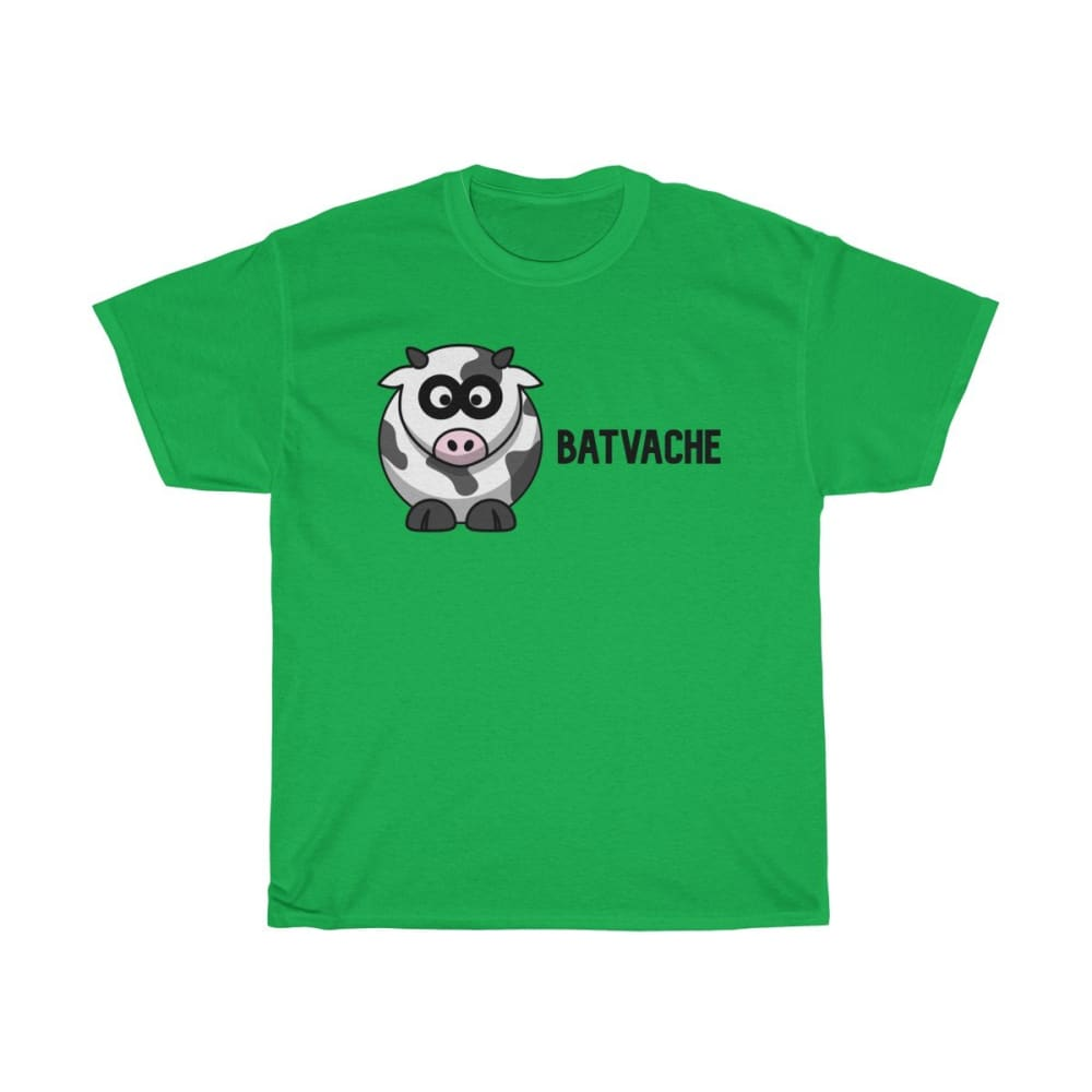 T-unisexe batvache - Irish Green / S - Crew neck - DTG -