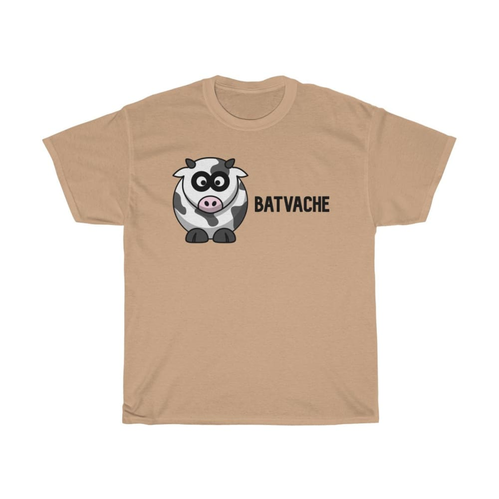 T-unisexe batvache - Old Gold / S - Crew neck - DTG - Men's