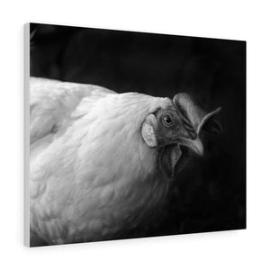 Tableau poule - 30″ × 24″ / Stretched Canvas (1.5) - Art &