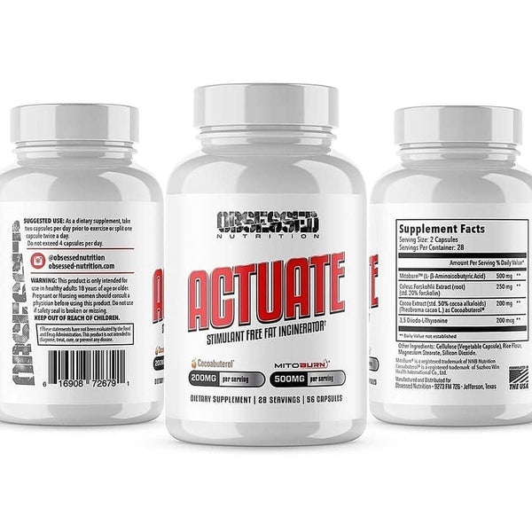 Nutrition Junction Obsessed Nutrition Actute Stimfree Fat Burner