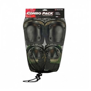 187 Pads Knee and Elbow Pads Set