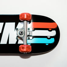 Load image into Gallery viewer, Skate Gym Complete Skateboard Rental Silver Trucks Closeup