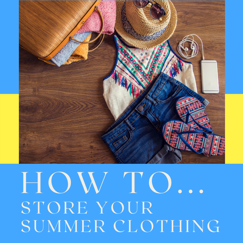 How to store your Summer clothing and gear up your Winter wardrobe