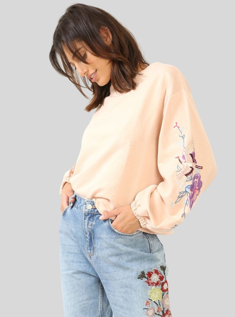 Embroidered Sweater