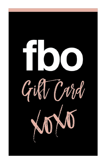 The FBO Gift Card Online