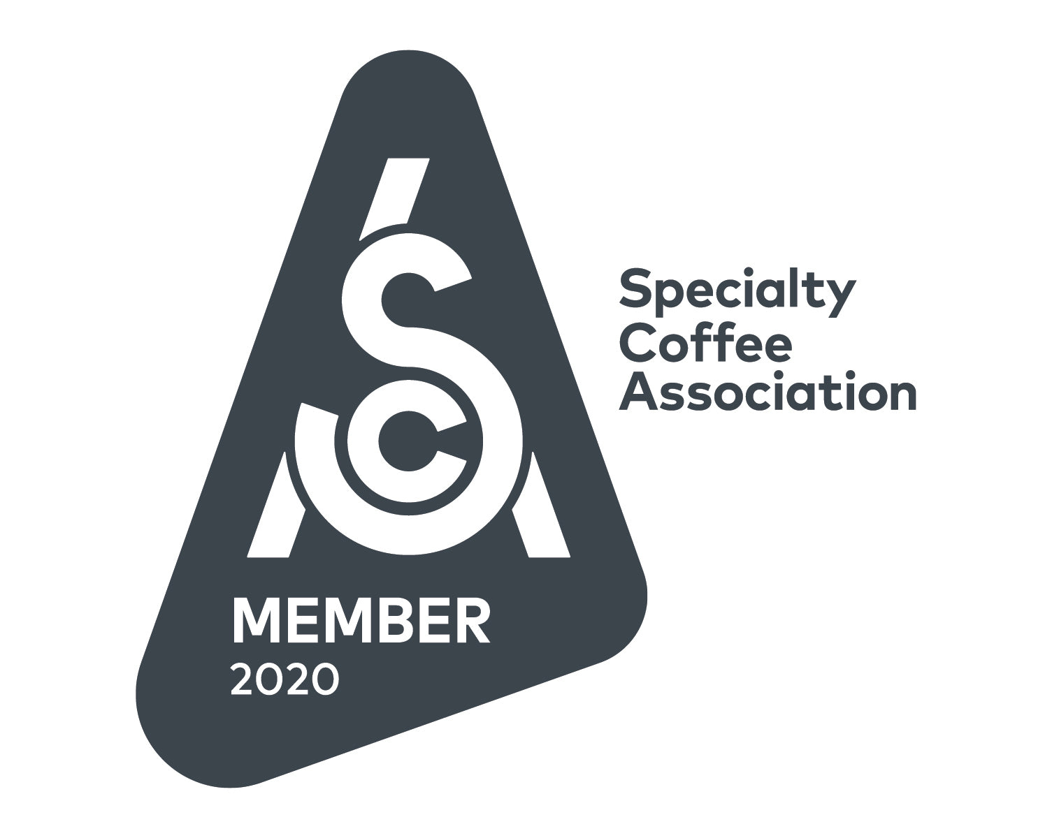 Specialty Coffee Association (SCA) 2020 Membership Badge