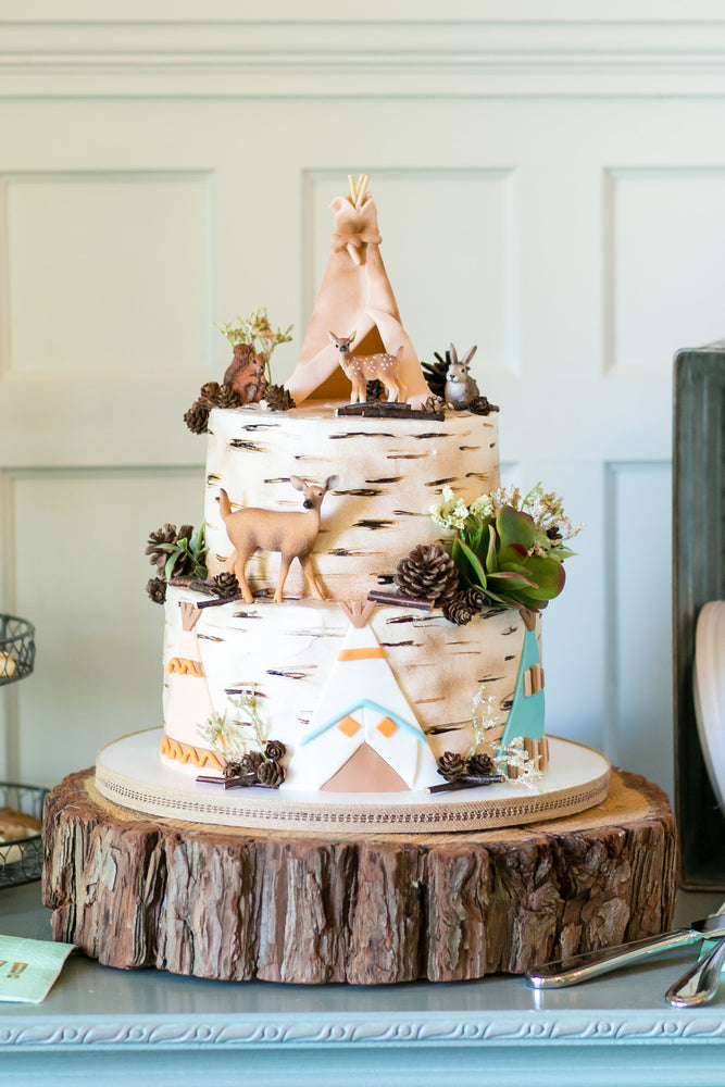 A Very Woodland Baby Shower