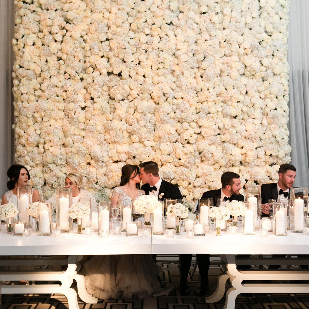 A Glamorous Floral Winter Wedding