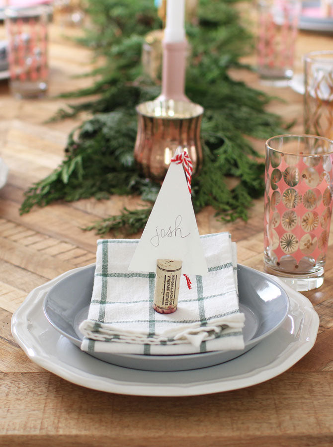 2020 Holiday Table Setting Inspo