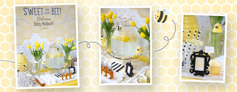 Sweet As Can Be Baby Shower Favors and Décor