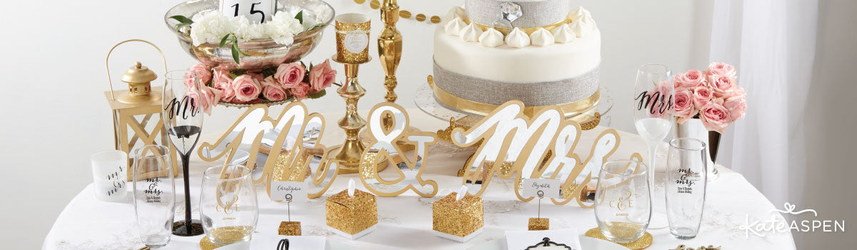 Classic Wedding Favors & Decor